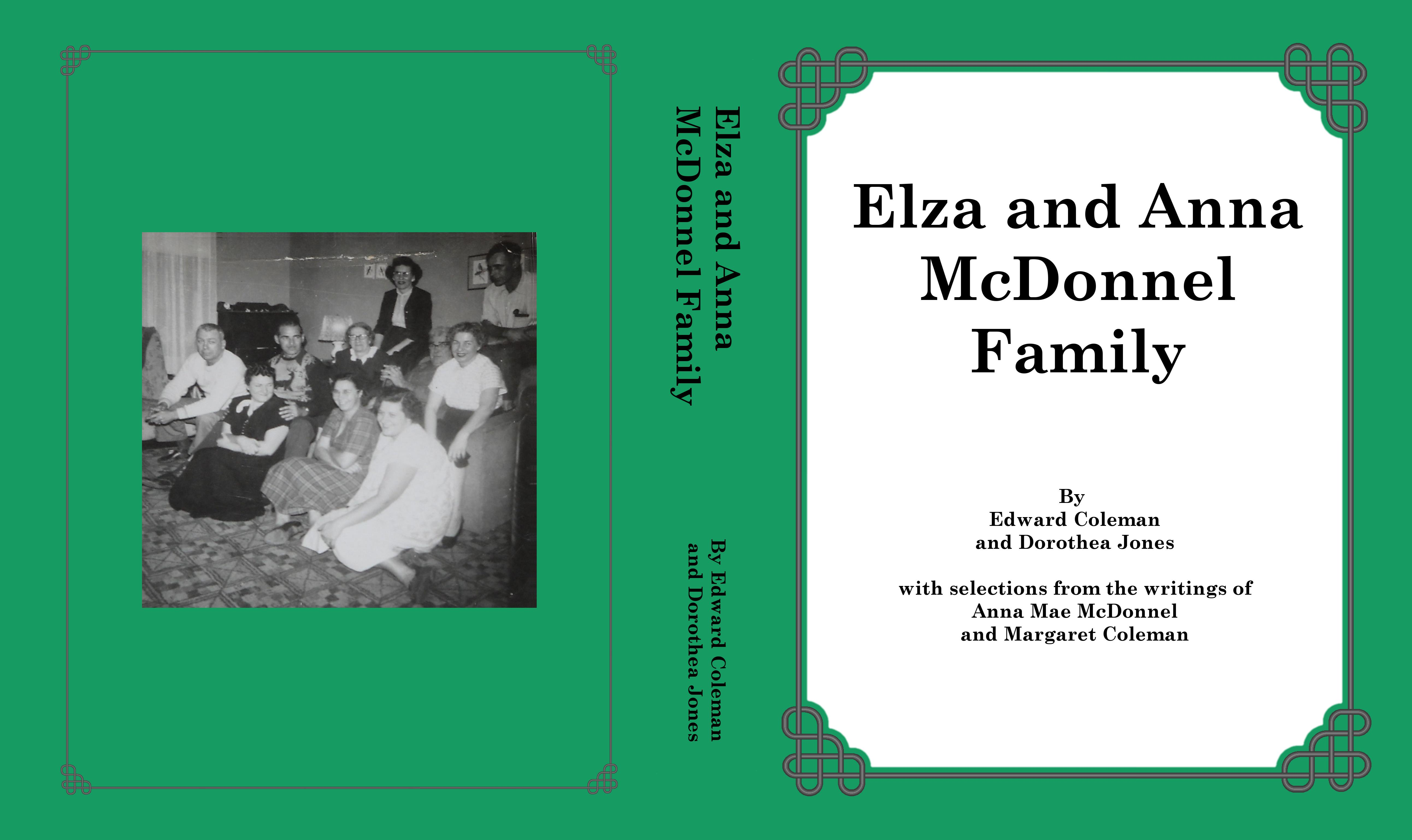 Elza and Anna McDonnel Family cover image