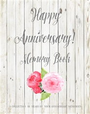 Happy Anniversary Memory Book cover image