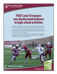 2017 ASAA/First National Bowl Series Football State Championships Program cover image