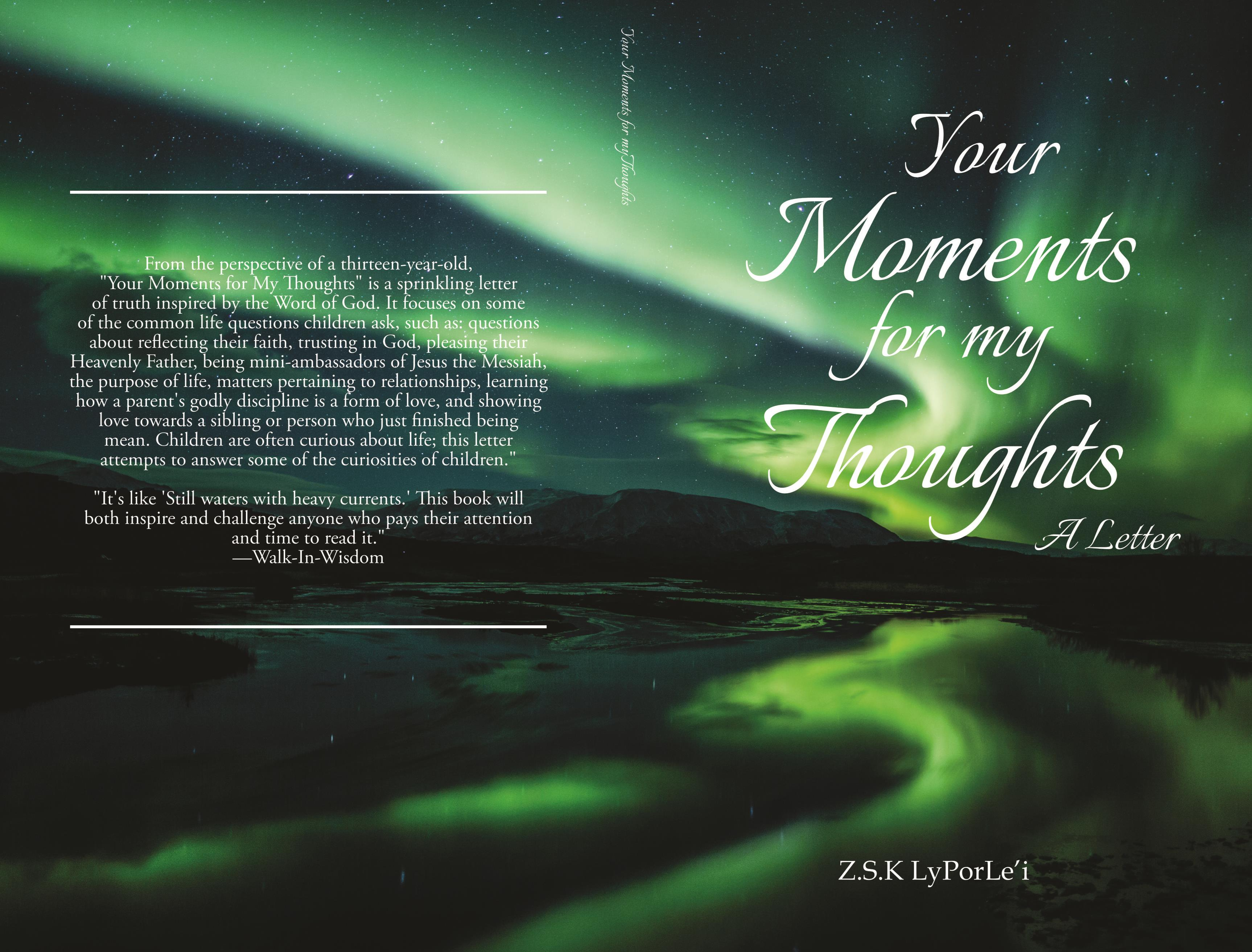 Your Moments for My Thoughts cover image