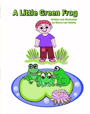 A Little Green Frog cover image