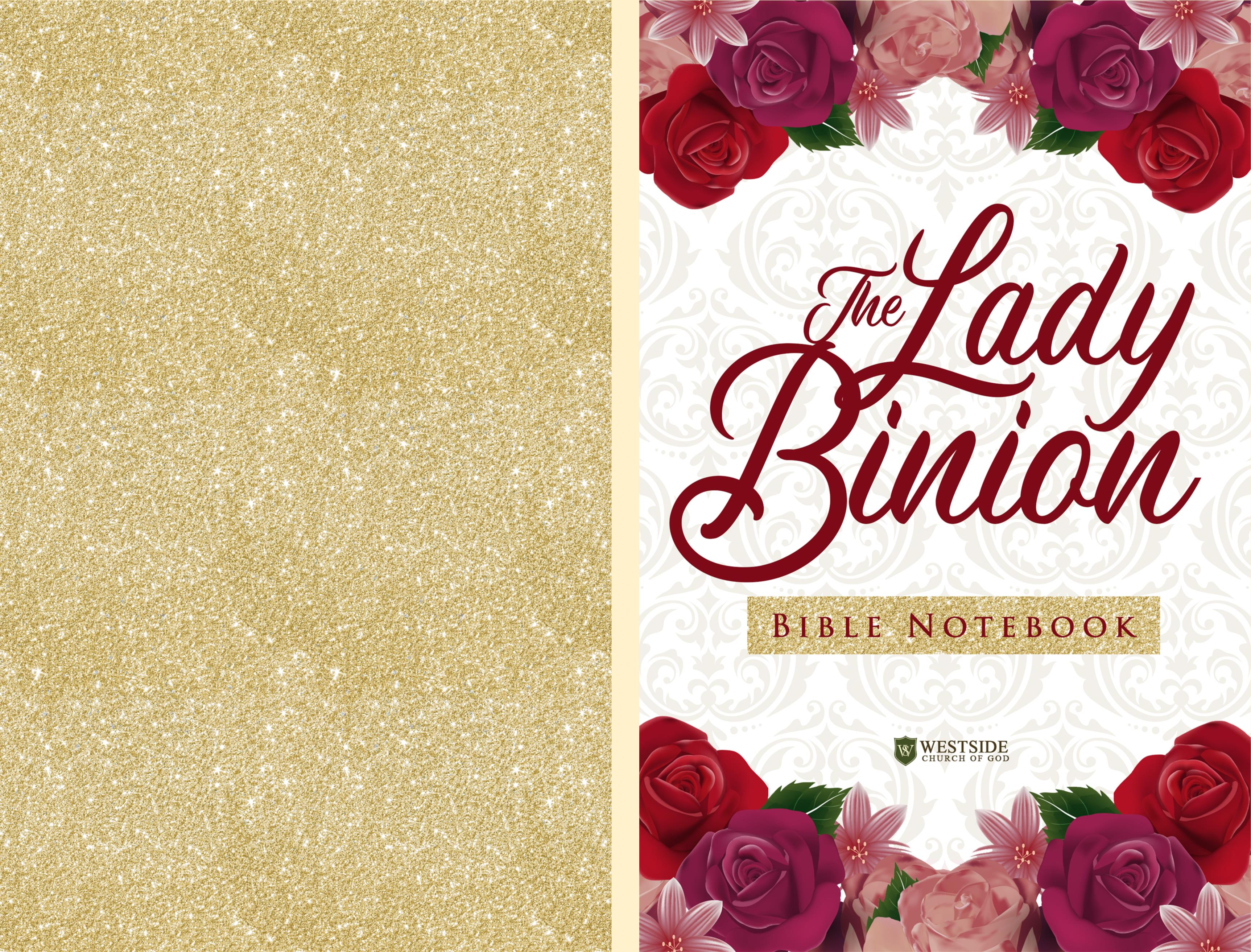The Lady Binion Bible Notebook cover image