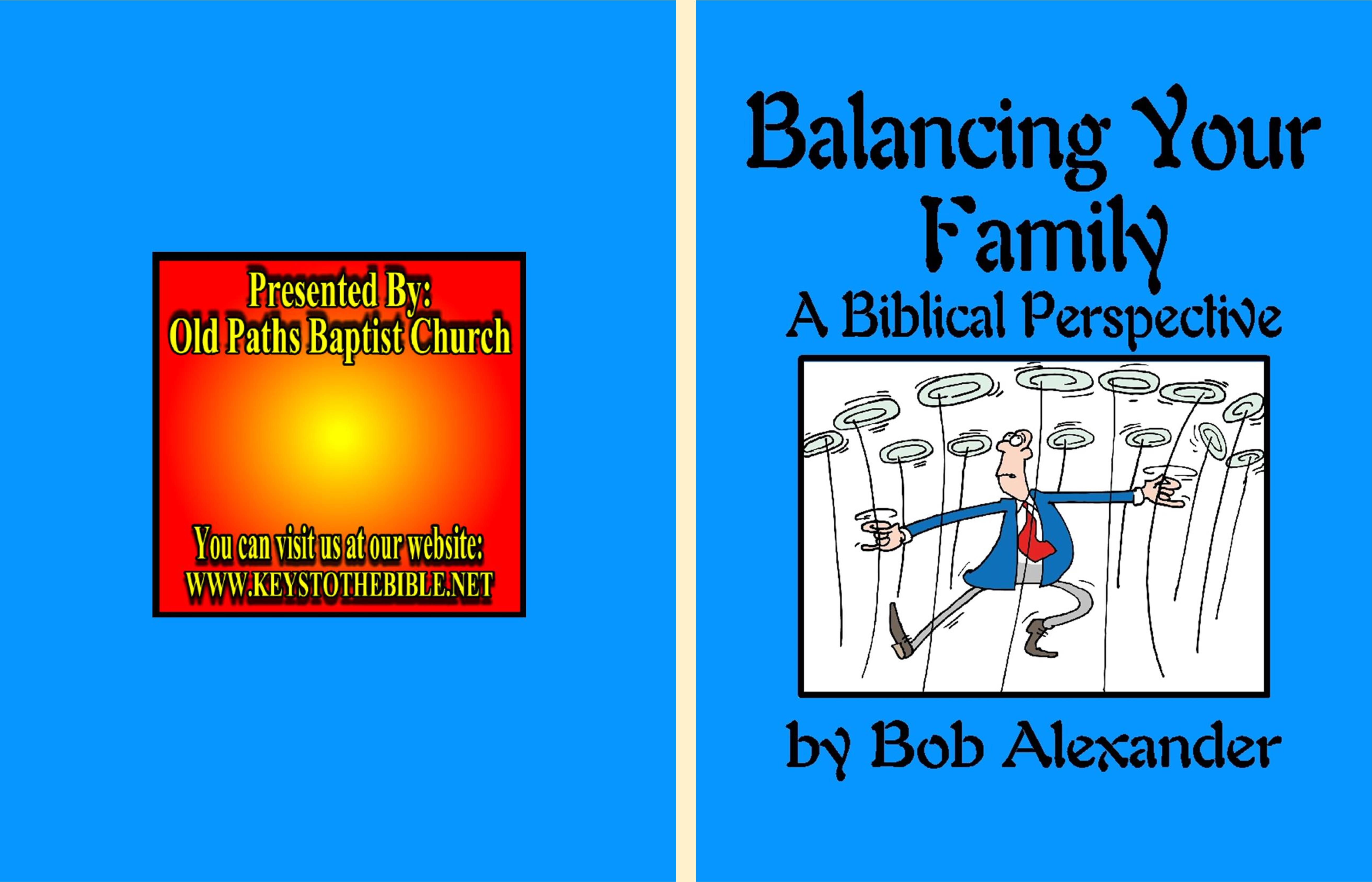A Balanced Family cover image