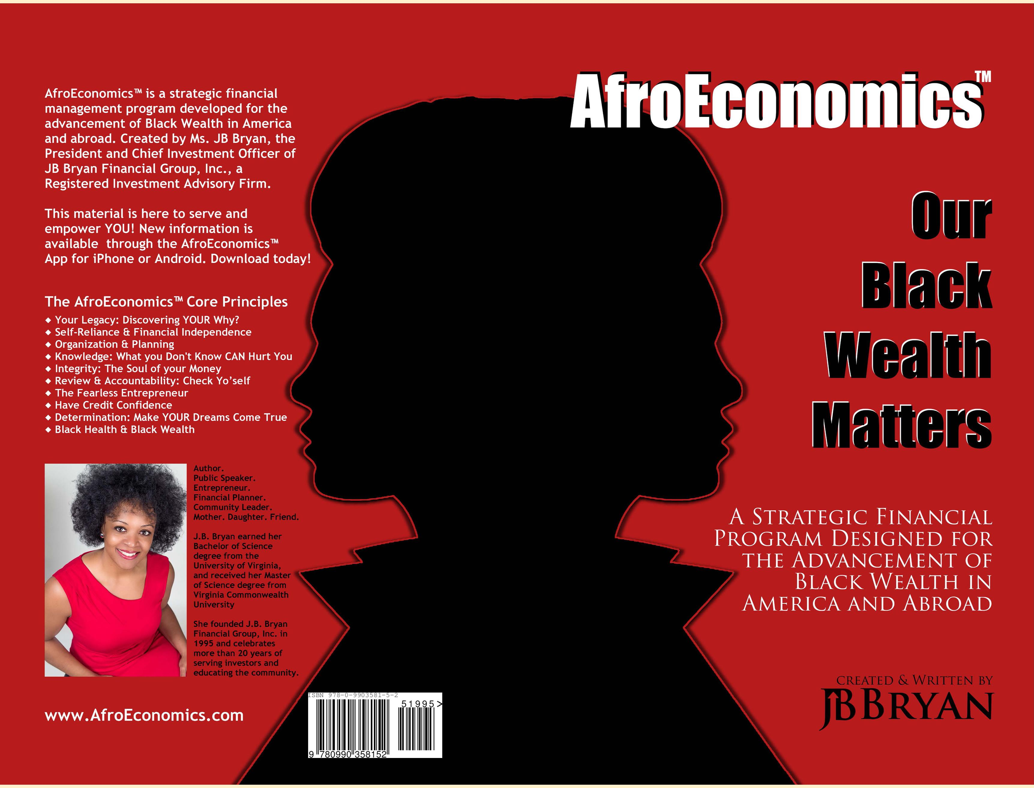 AfroEconomics: Our Black Wealth Matters cover image