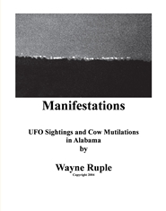 Manifestations - UFO Sightings & Cow Mutilations in Alabama cover image