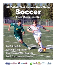 2017 ASAA/First National Bank Alaska Soccer State Championship Program cover image