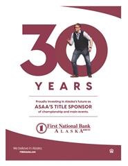 2021 ASAA/First National Bank Alaska DDF State Championships Program cover image