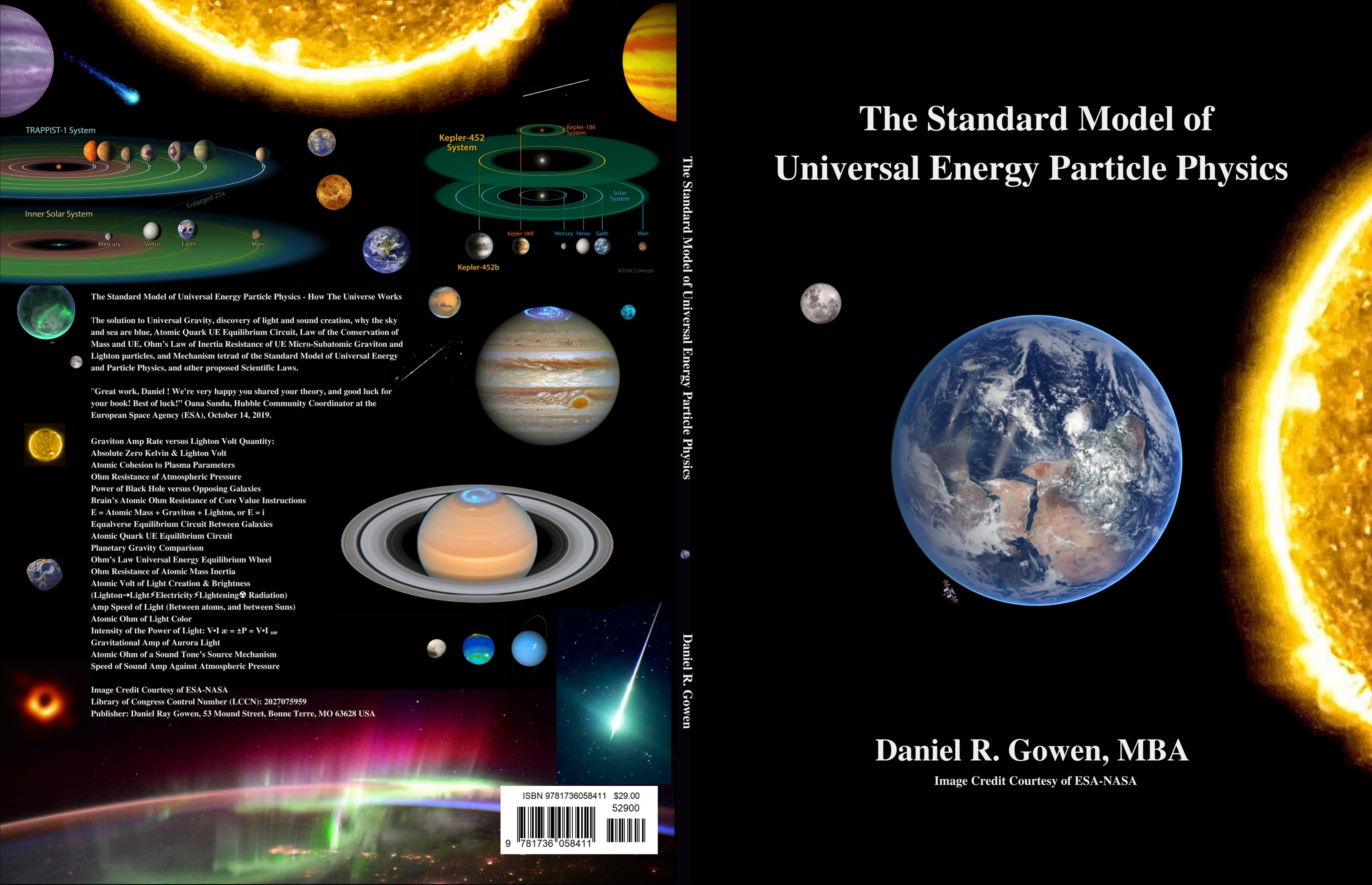 Lighton and Lightan Particles Are the Interconnection of Universal Energy: The Interconnectivity of Micro-Subatomic Electromagnetism to Universal Gravity cover image