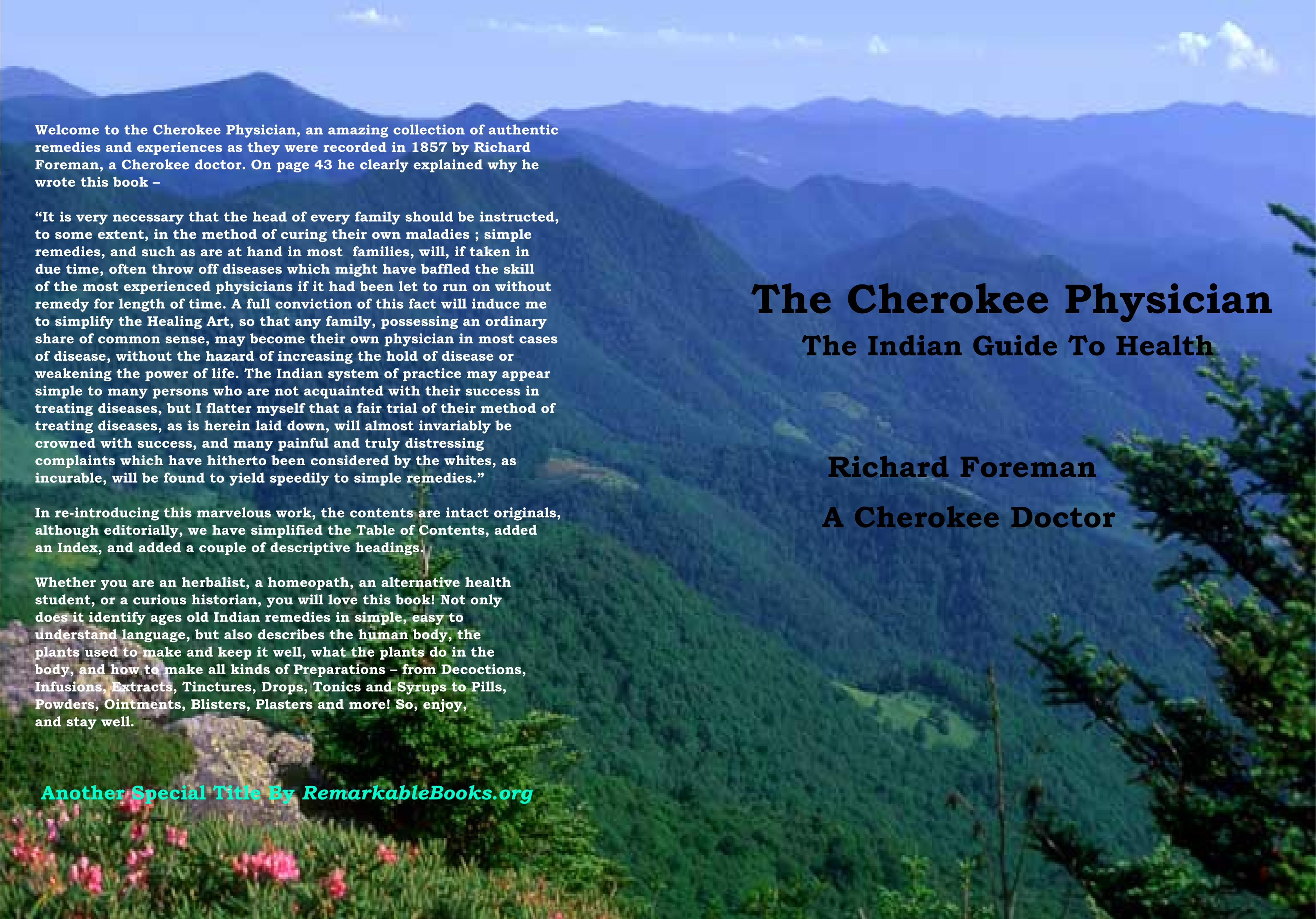 The Cherokee Physician cover image