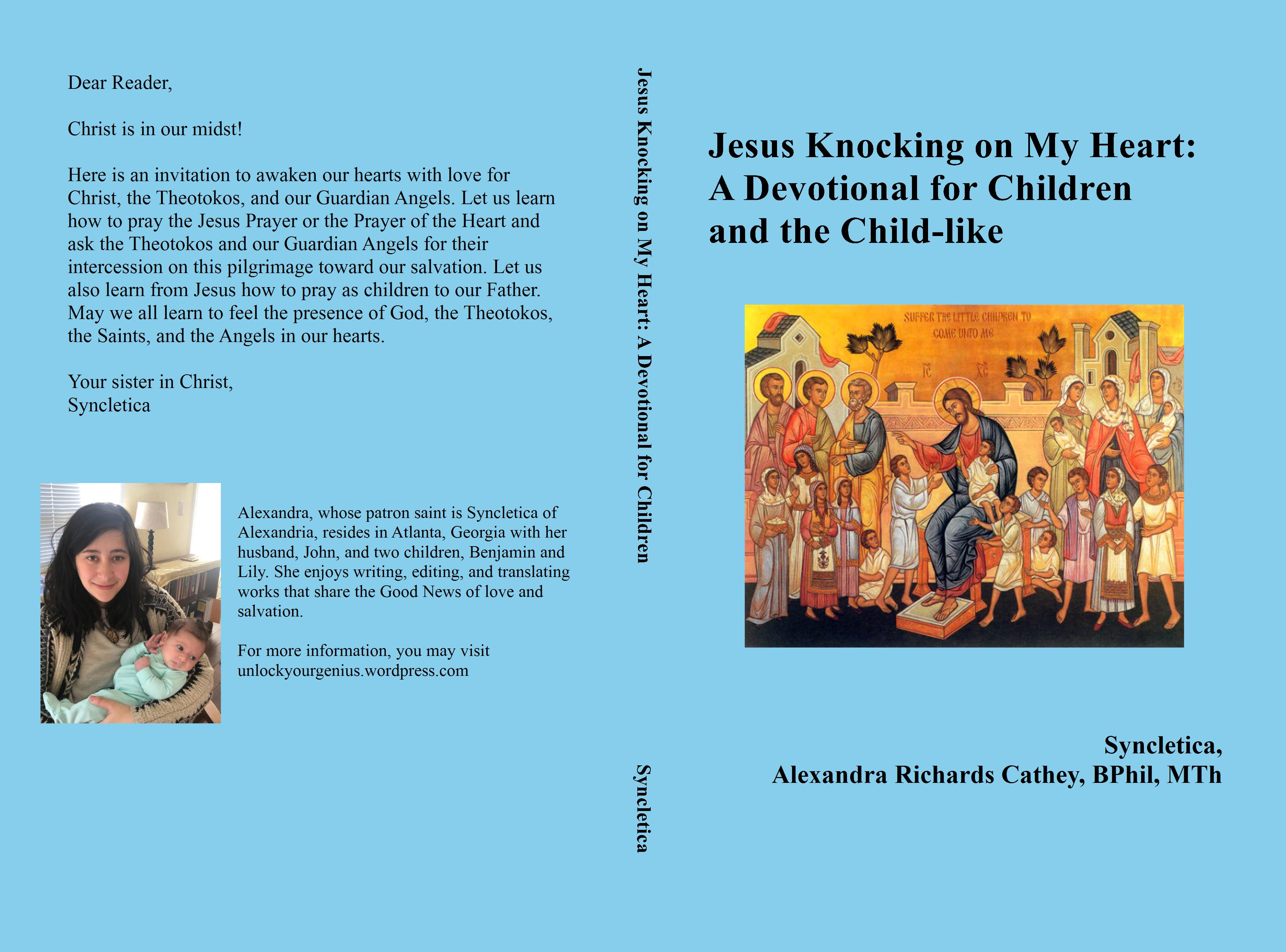 Jesus Knocking on My Heart: A Devotional for Children and the Child-like cover image