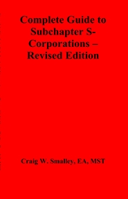 Complete Guide to Subchapter S-Corporations – Revised Edition cover image