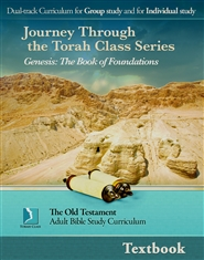 Genesis: The Book of Foundations. Adult Textbook cover image