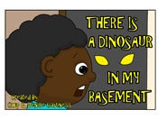 There Is A Dinosaur In My Basement cover image