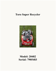 Toro Super Recycler cover image