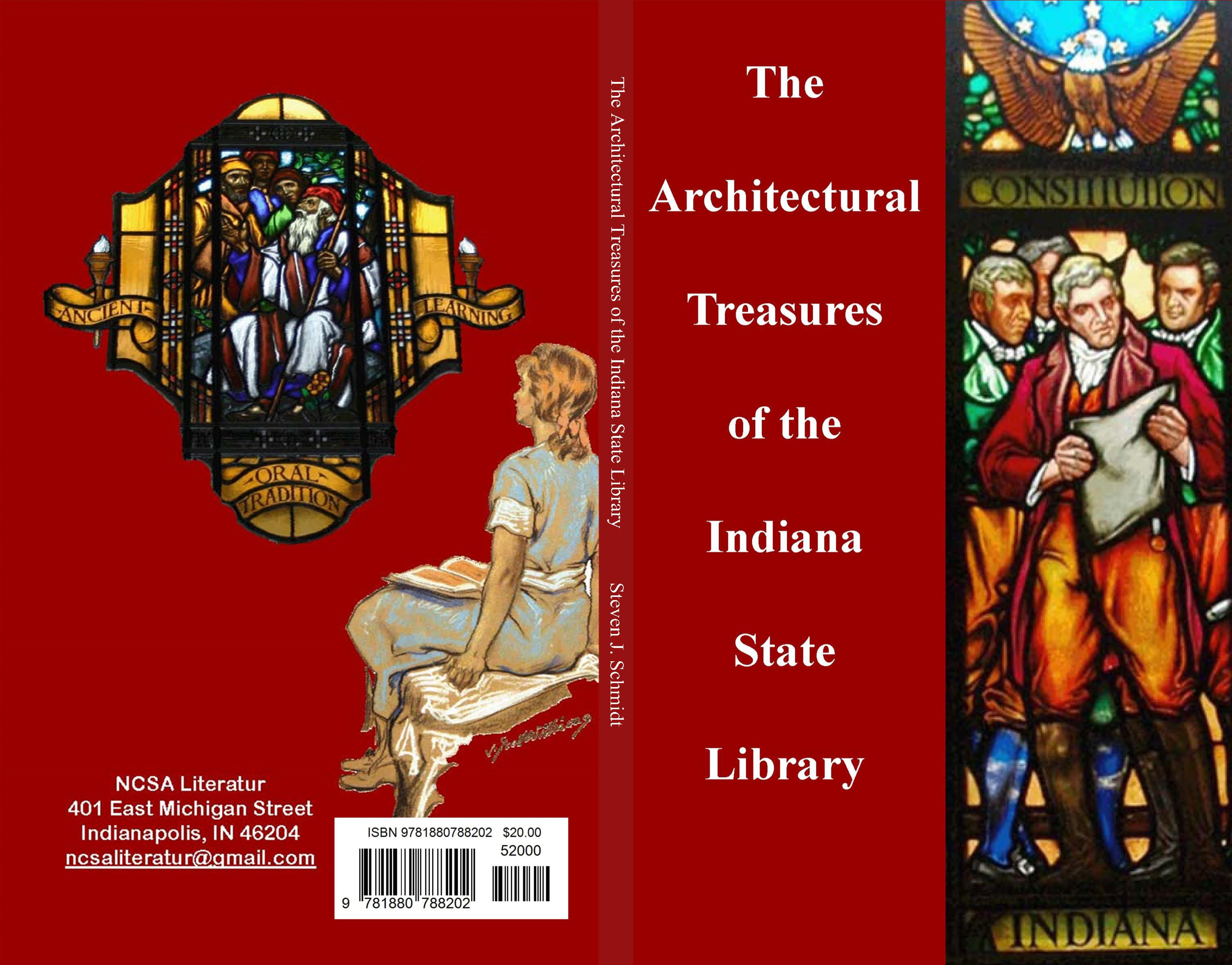 The Architectural Treasures of the Indiana State Library cover image