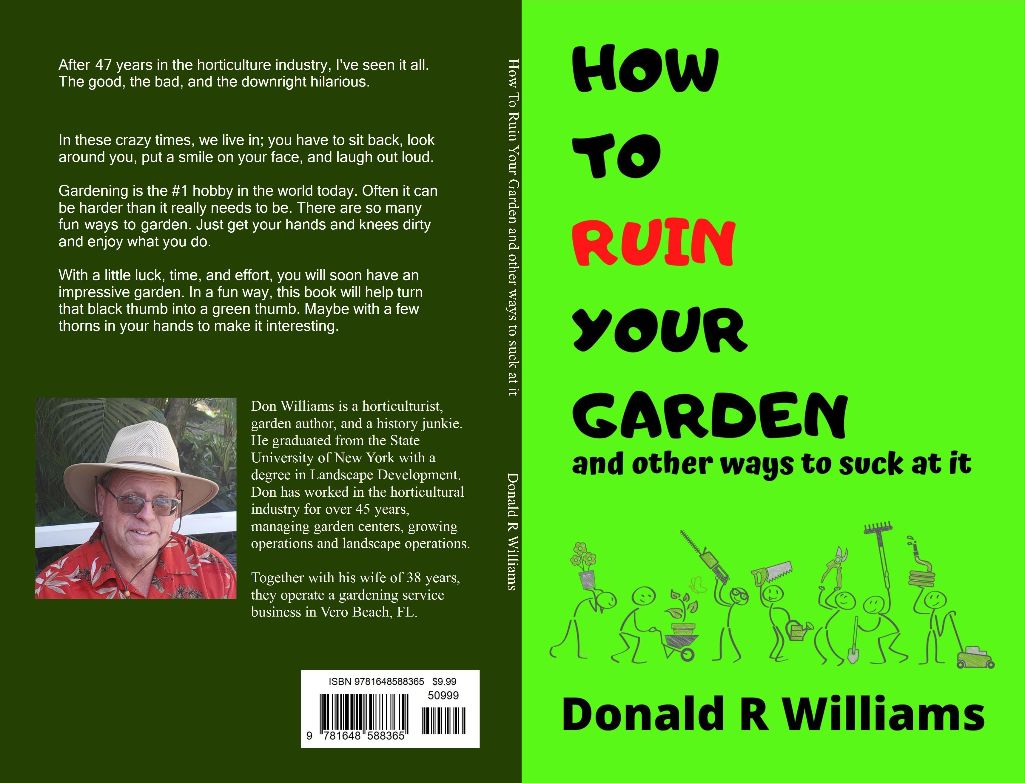 How To Ruin Your Garden and other ways to suck at it cover image