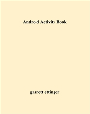 Android Activity Book cover image