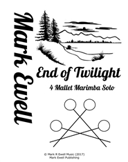 End of Twilight - Marimba Solo cover image