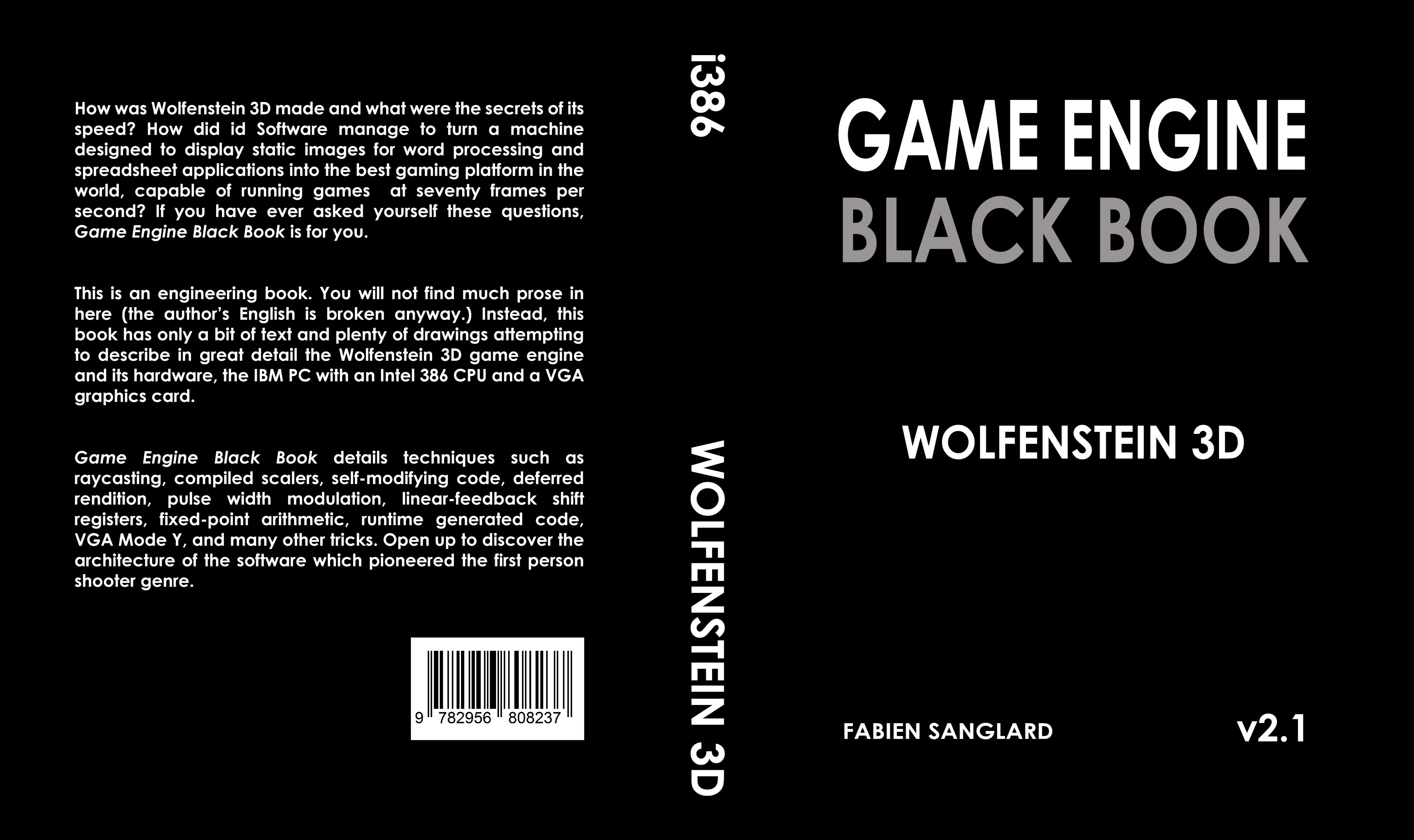 Game Engine Black Book: Wolfenstein 3D by fabien sanglard : $44 11