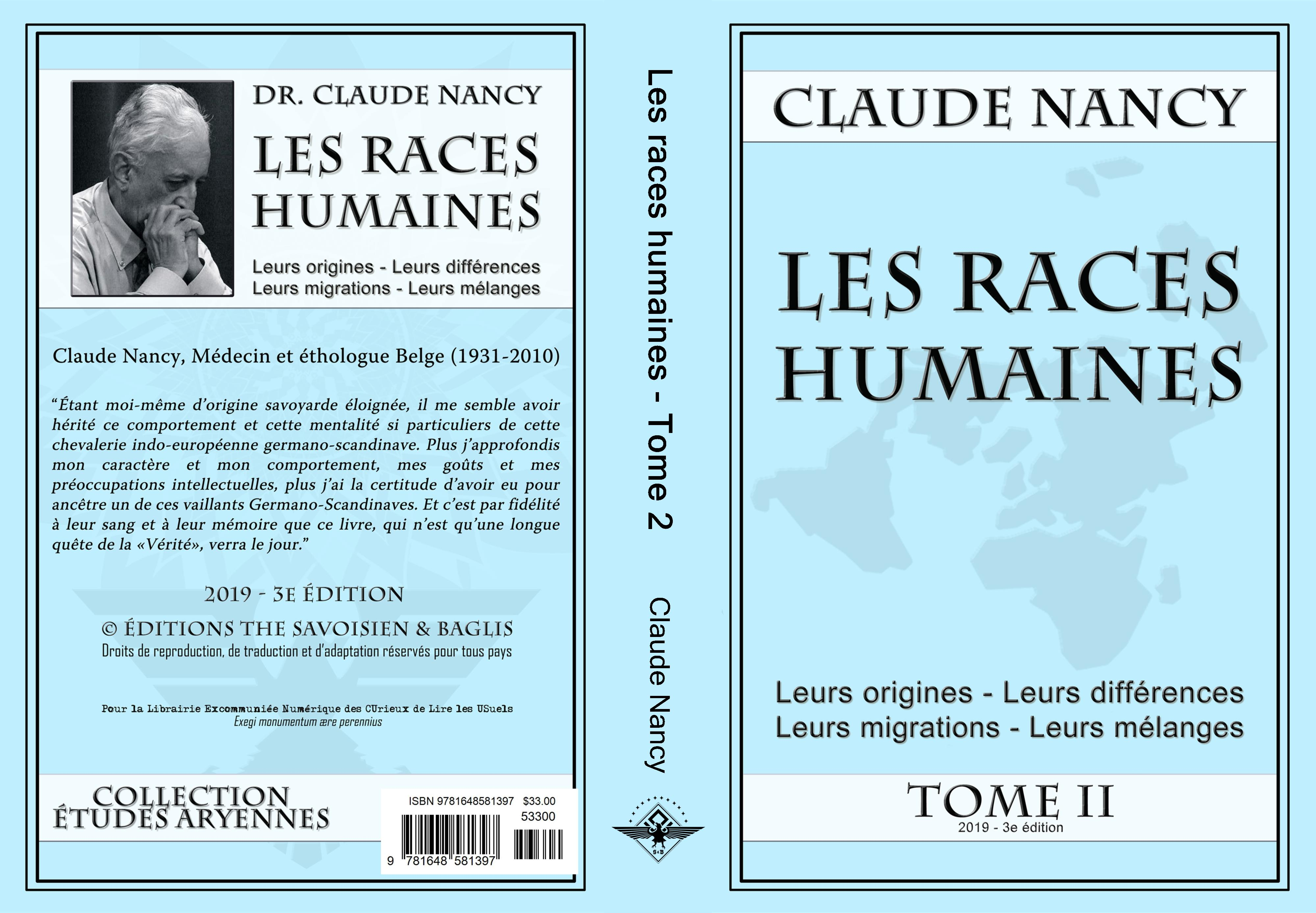 Les races humaines Tome 2 cover image