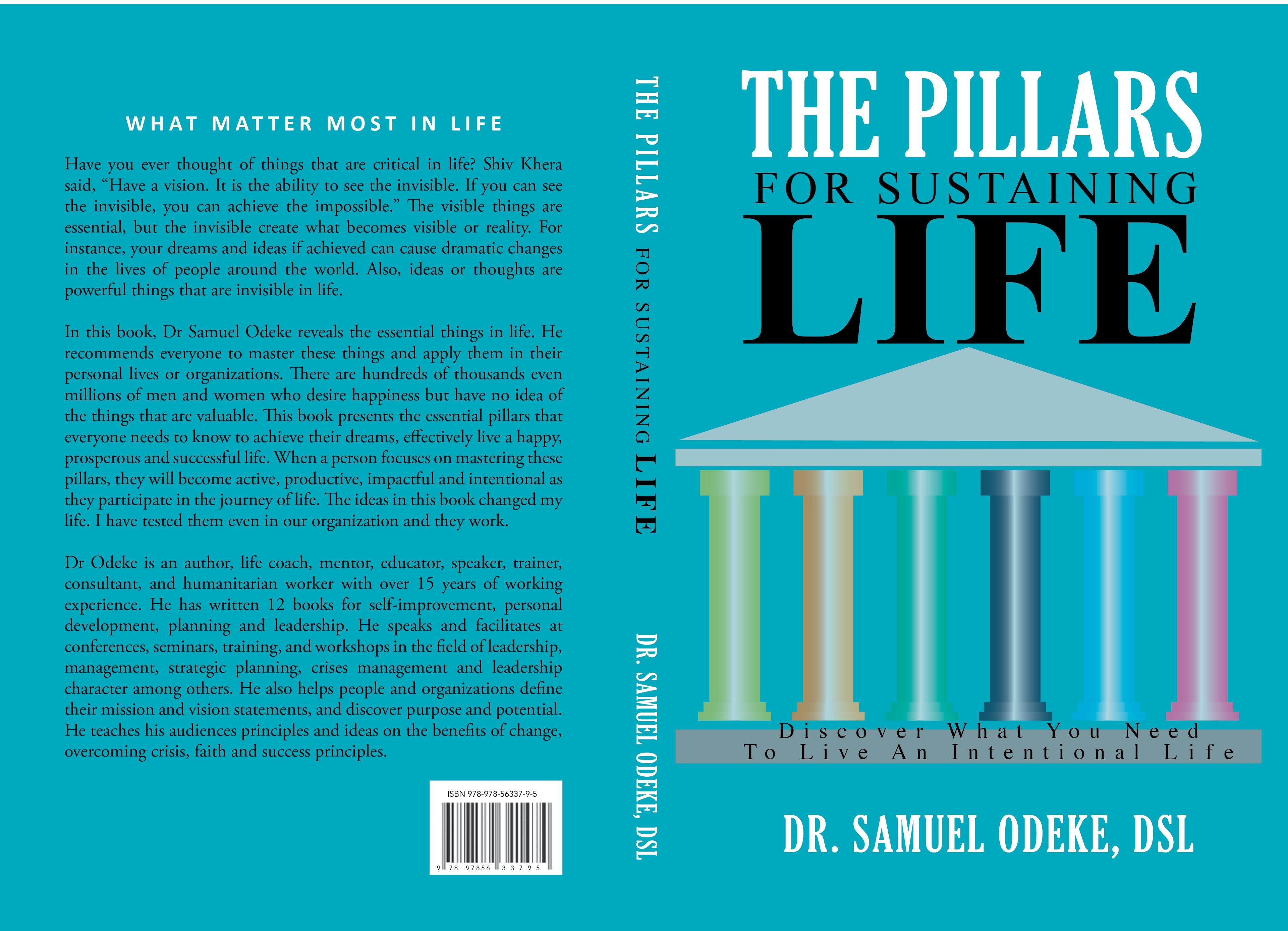 The Pillars for Sustaining Life: Discover What You Need to Live an Intentional Life cover image