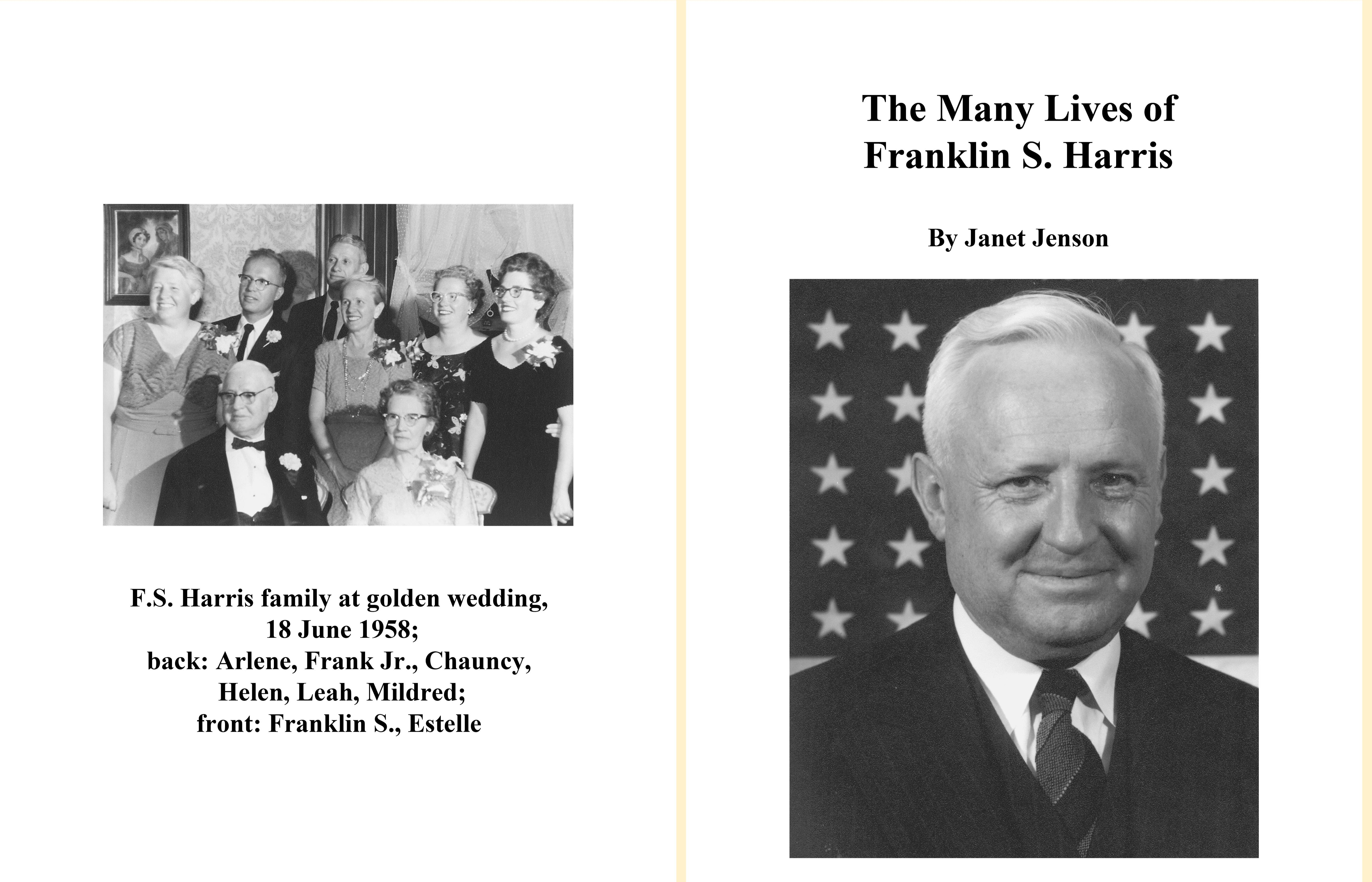 The Many Lives of Franklin S. Harris cover image