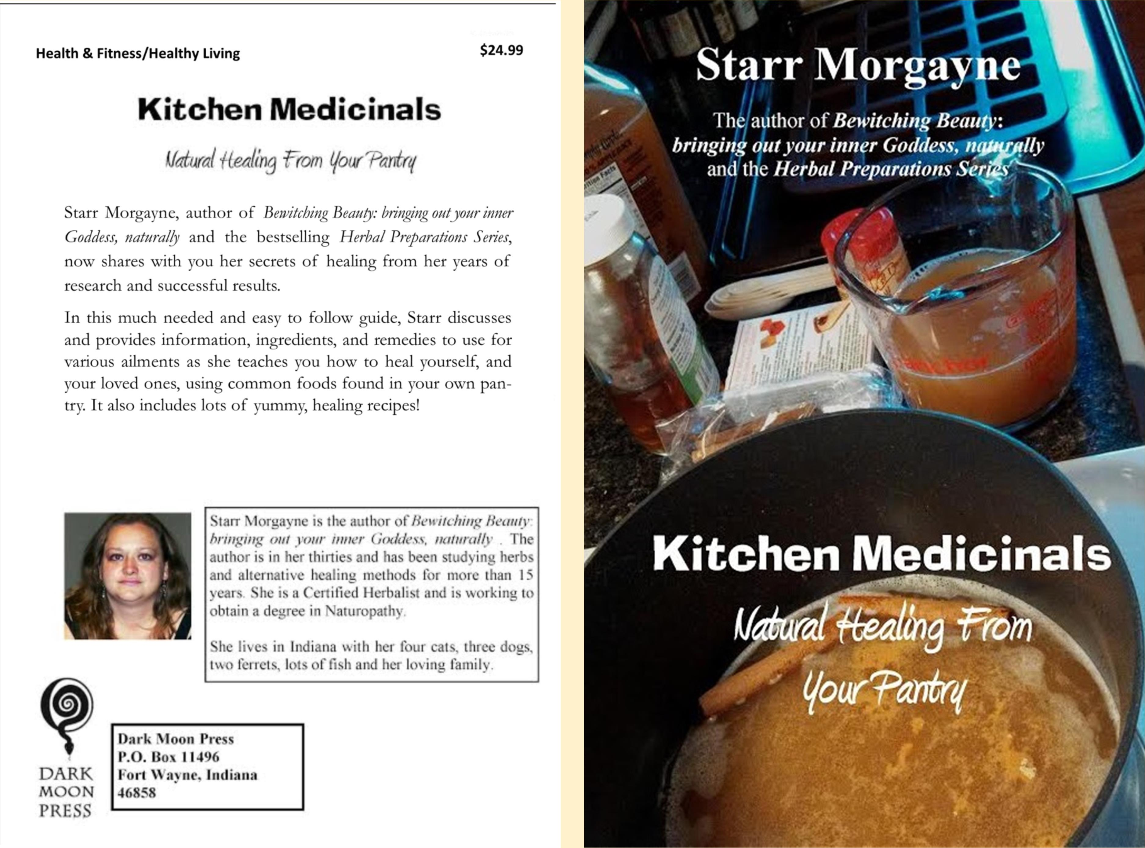 Kitchen Medicinals: Natural Healing from Your Pantry cover image
