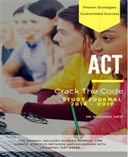 ACT Crack the Code Study Journal 2018-2019 cover image