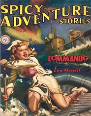 Spicy Adventures 1942 December cover image