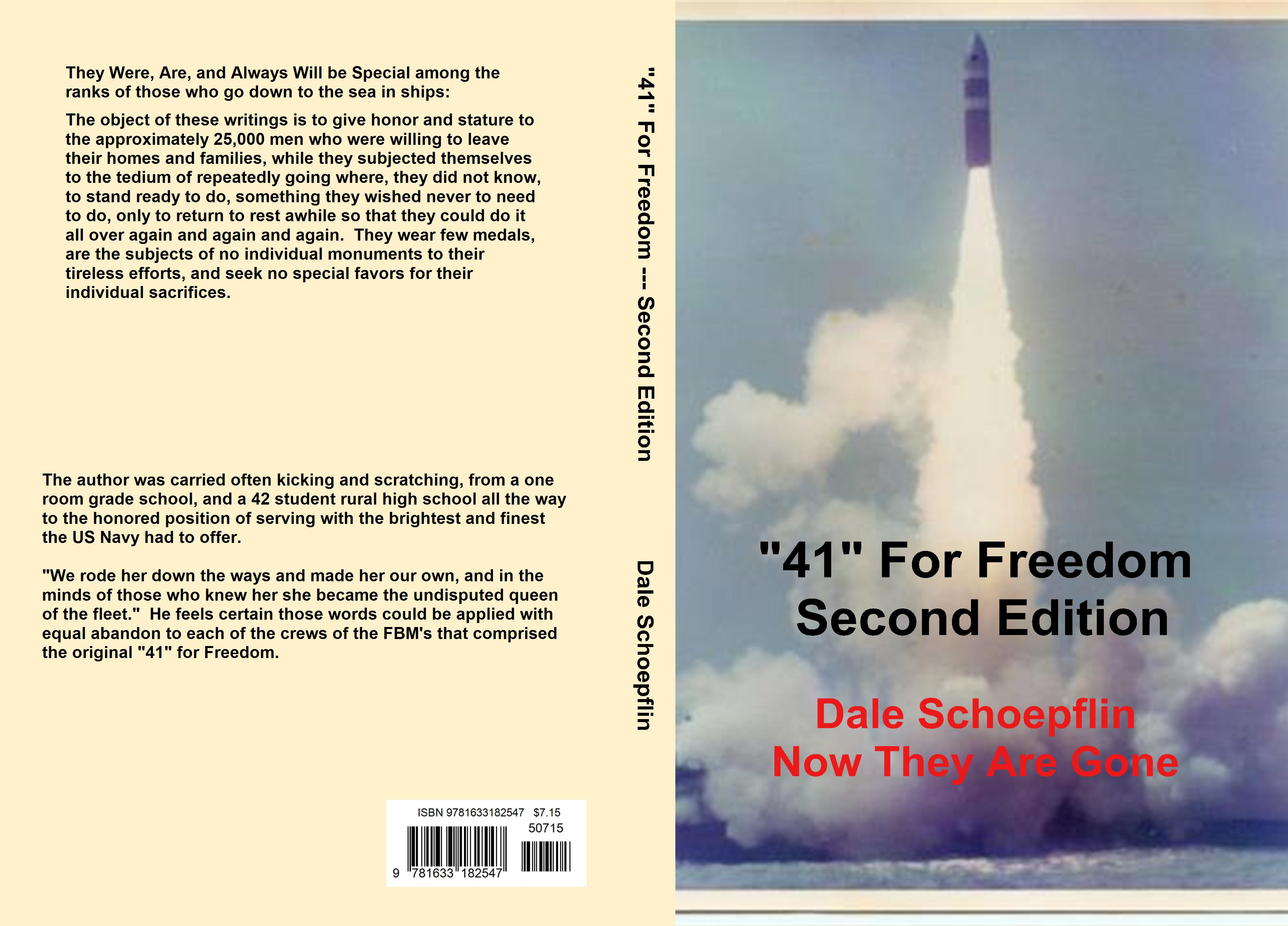 """41"" For Freedom Second Edition cover image"