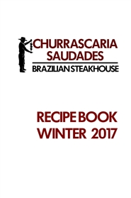 2017Winter BLACK AND WHITE RECIPE BOOK cover image