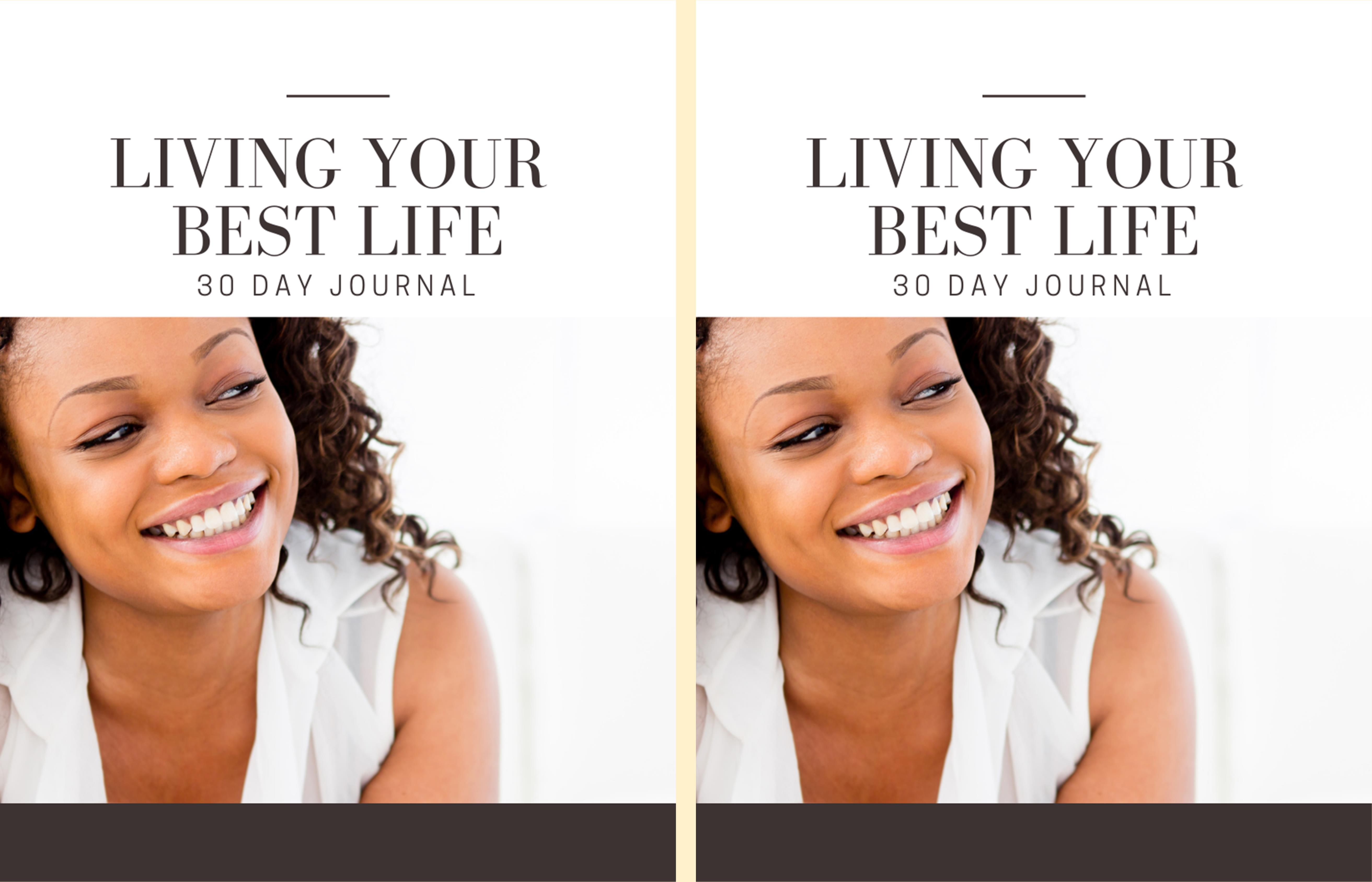 Living Your Best Life Journal cover image