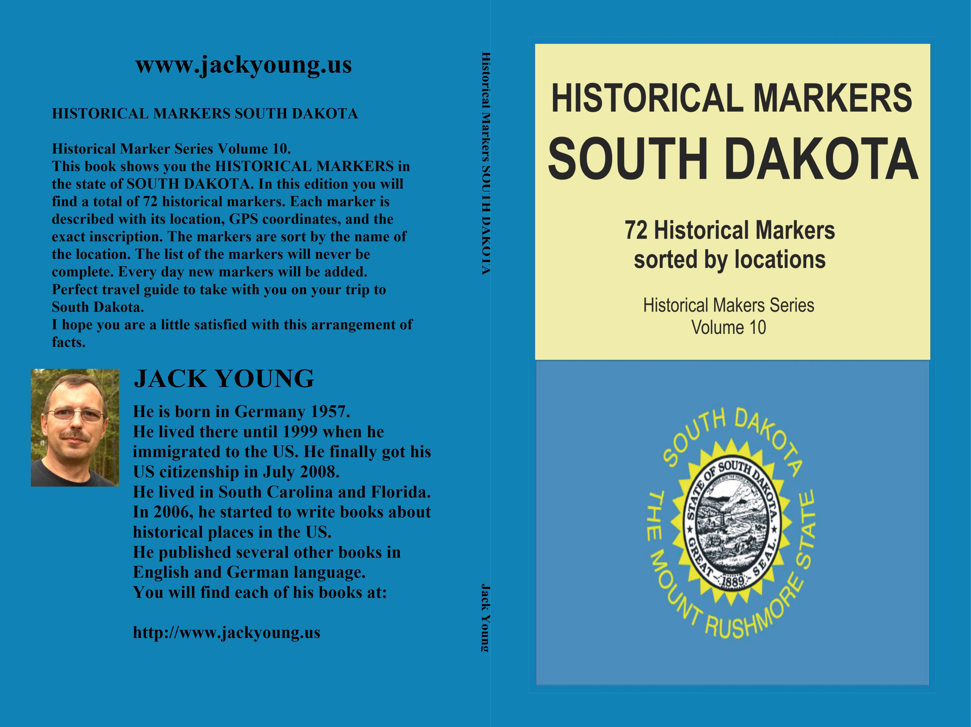 Historical Markers SOUTH DAKOTA cover image