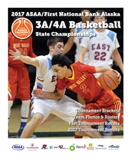 2017 ASAA/First National Bank Alaska 3A/4A Basketball State Championship Program cover image