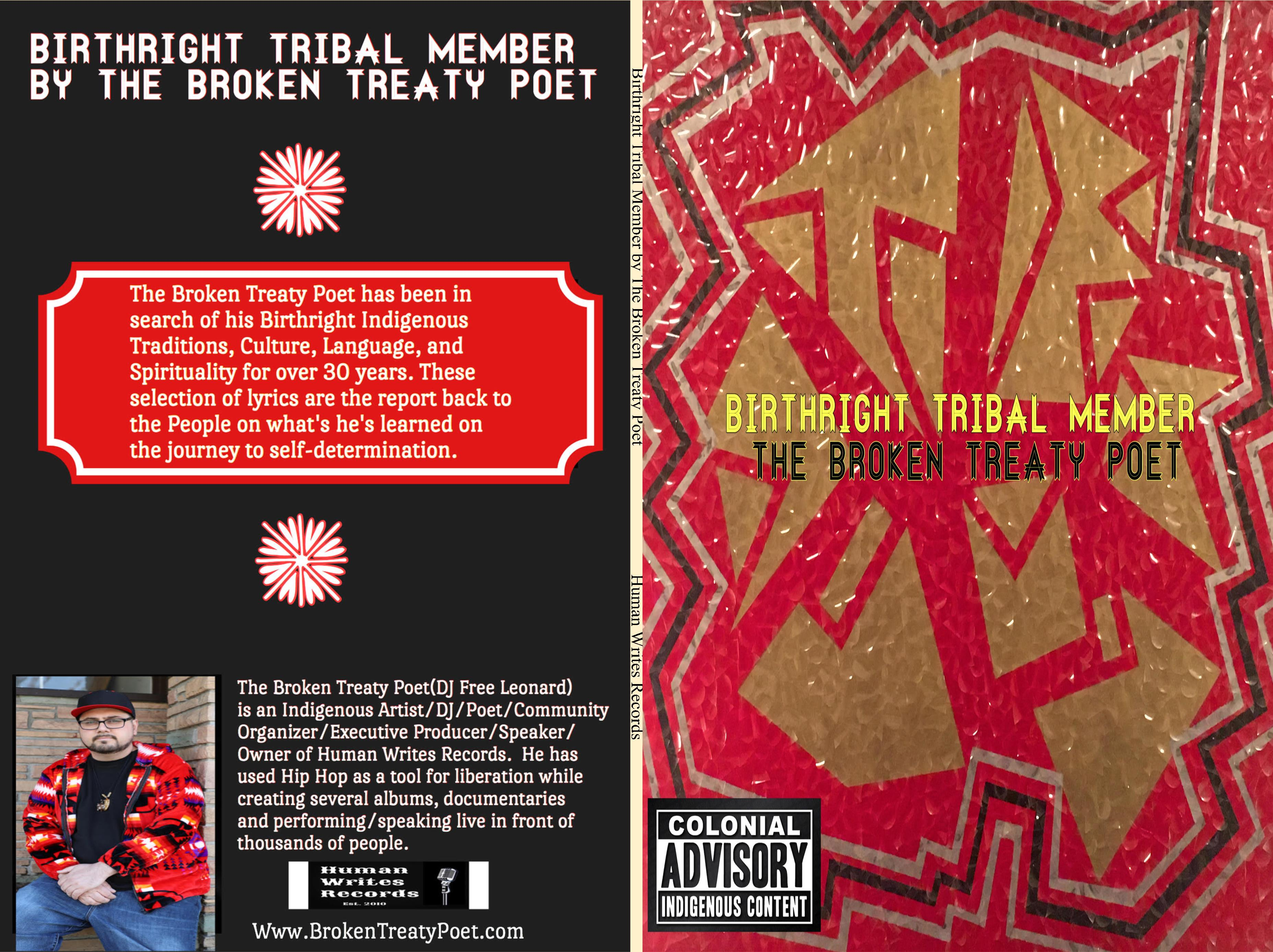Birthright Tribal Member by The Broken Treaty Poet cover image