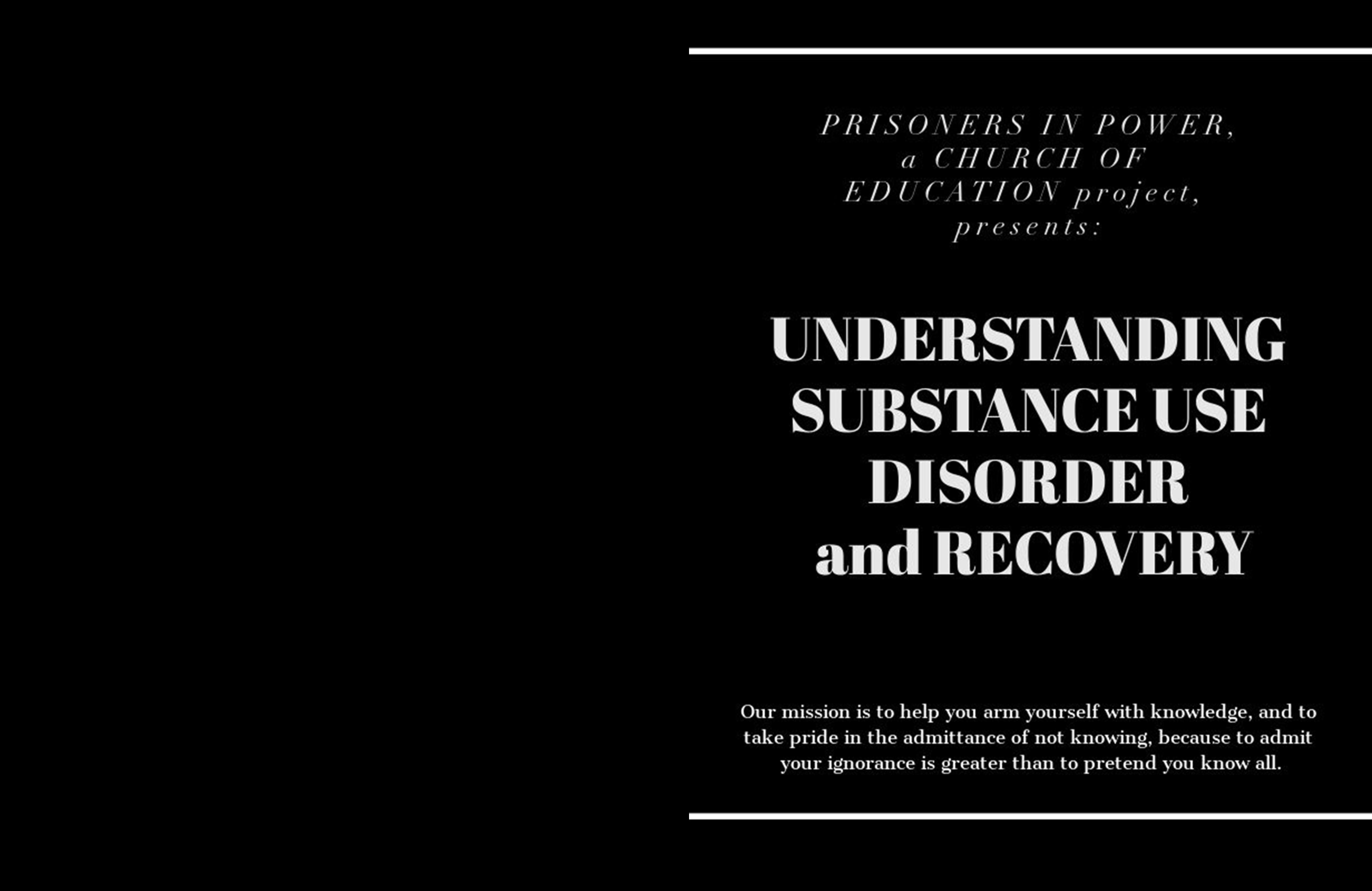 Understanding Substance Use Disorder and Recovery cover image