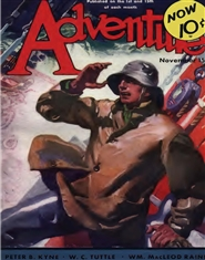 Adventure 1932 November cover image
