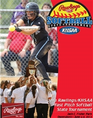 2013 Rawlings/KHSAA State Fast Pitch Softball Program cover image