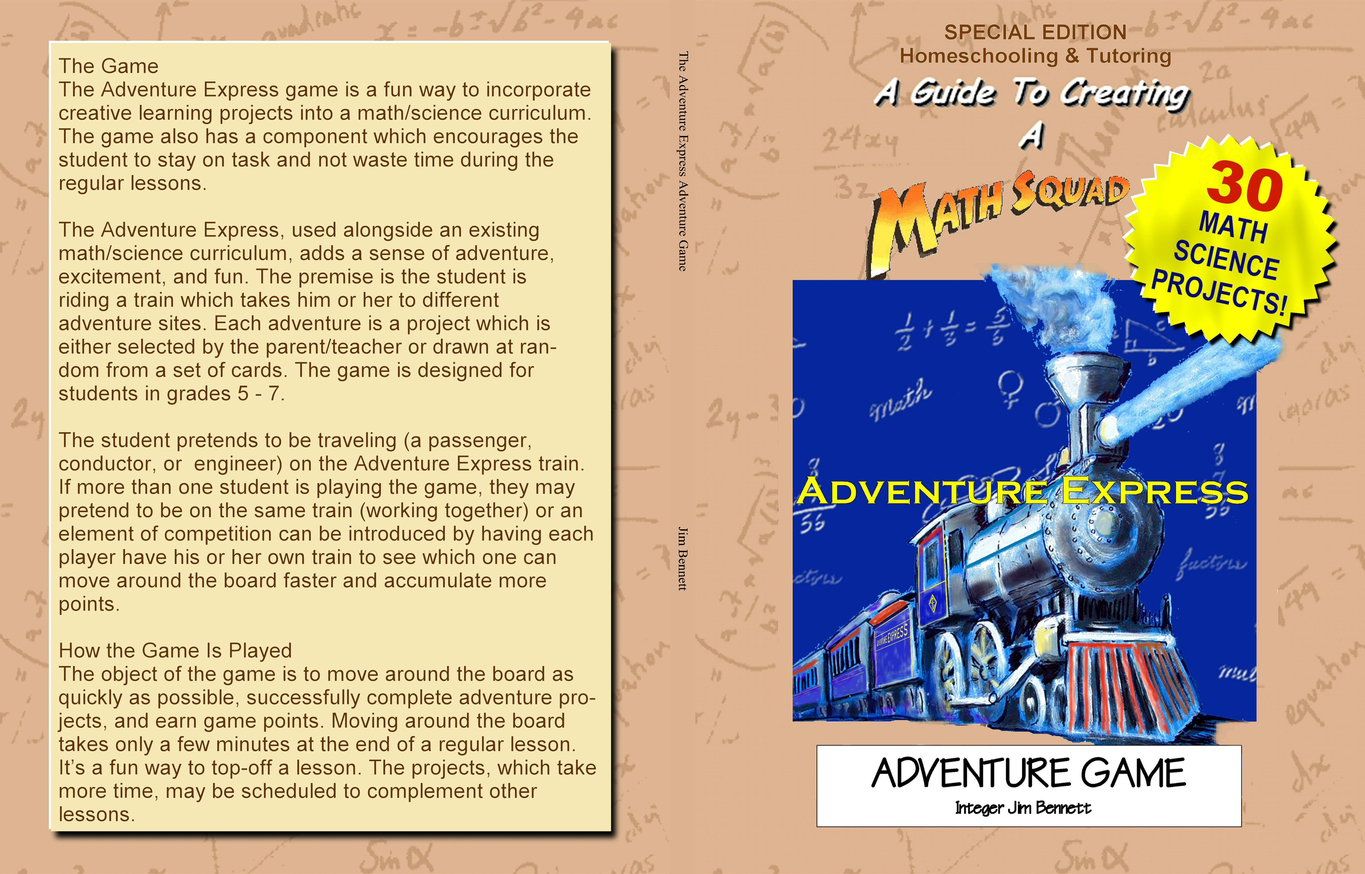 The Adventure Express Adventure Game cover image