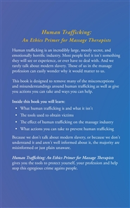 Human Trafficking: An Ethics Primer for Massage Therapists cover image