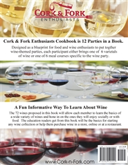 Cork & Fork Enthusiasts cookbook cover image