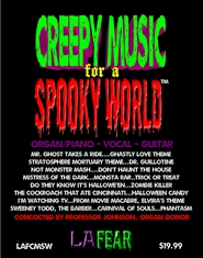 CREEPY MUSIC for a SPOOKY WORLD cover image