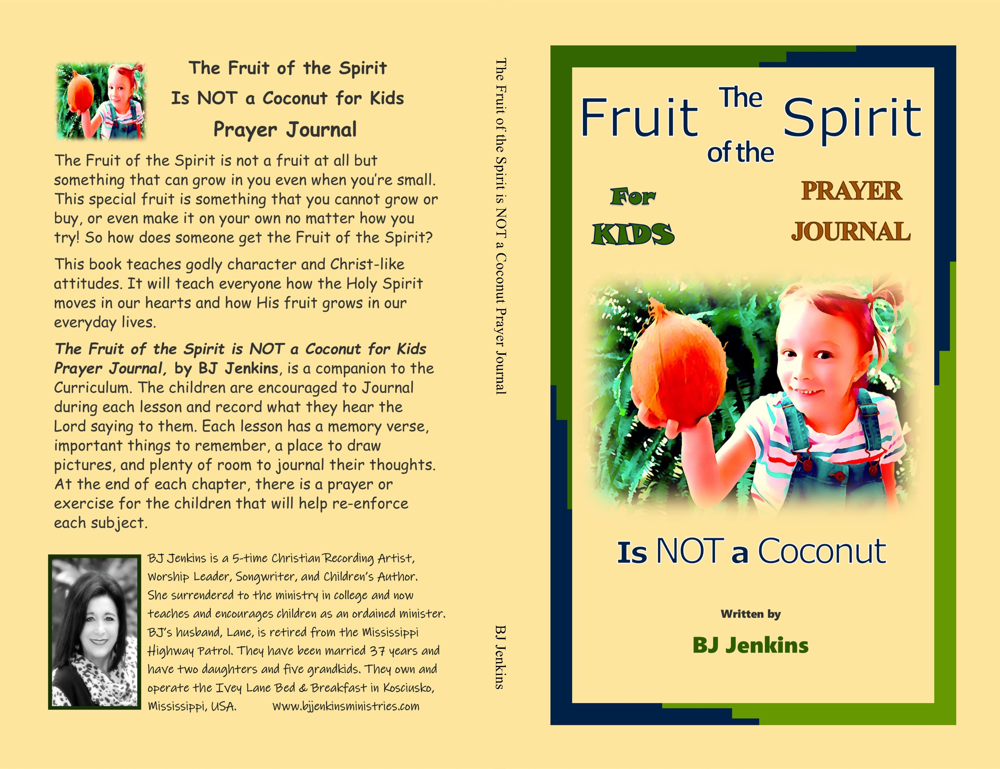 The Fruit of the Spirit is NOT a Coconut Prayer Journal cover image