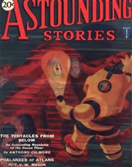 Astounding Stories 1931 February cover image
