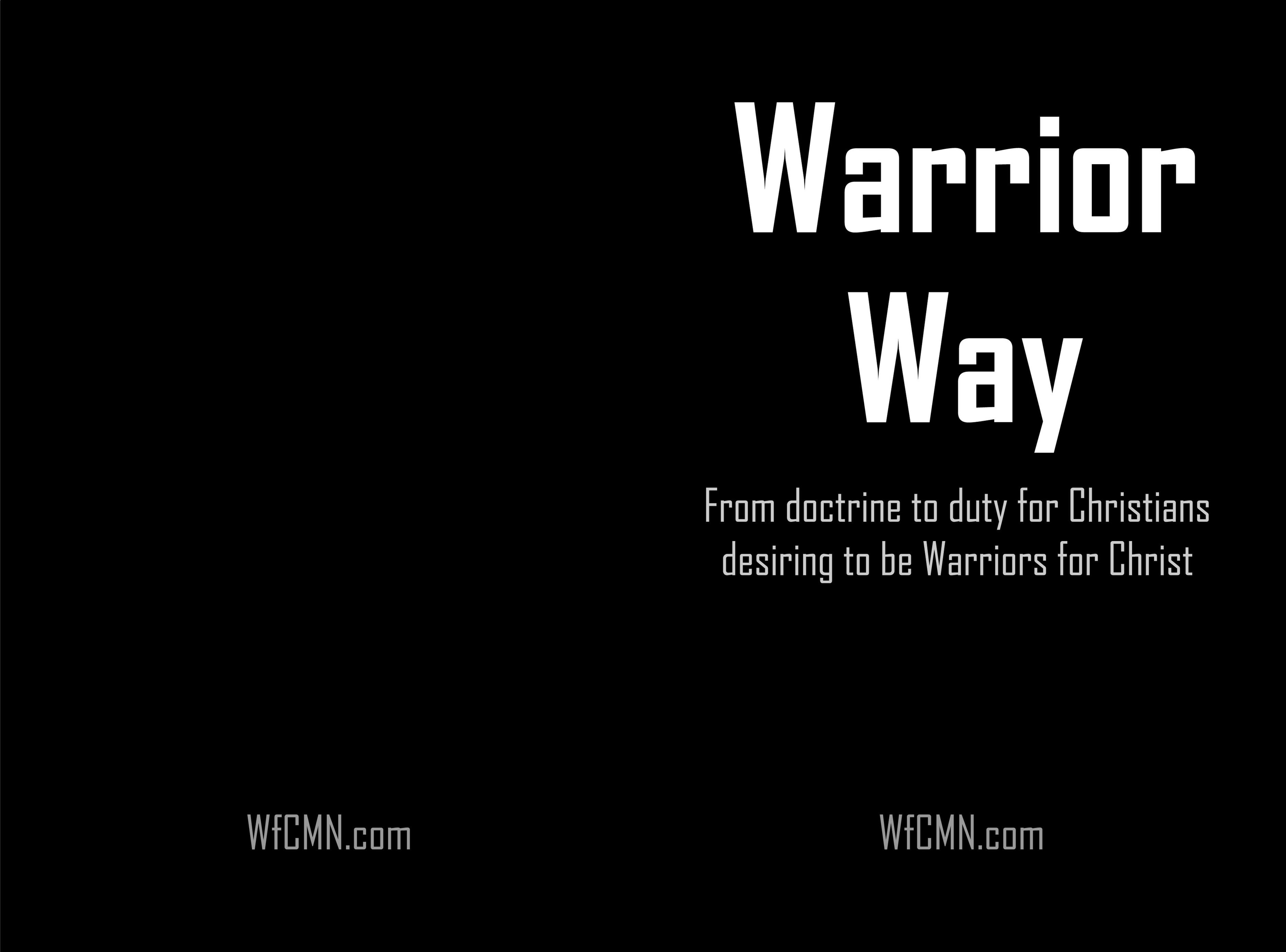 Warrior Way cover image