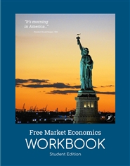 Free Market Economics Workbook -Student Edition cover image