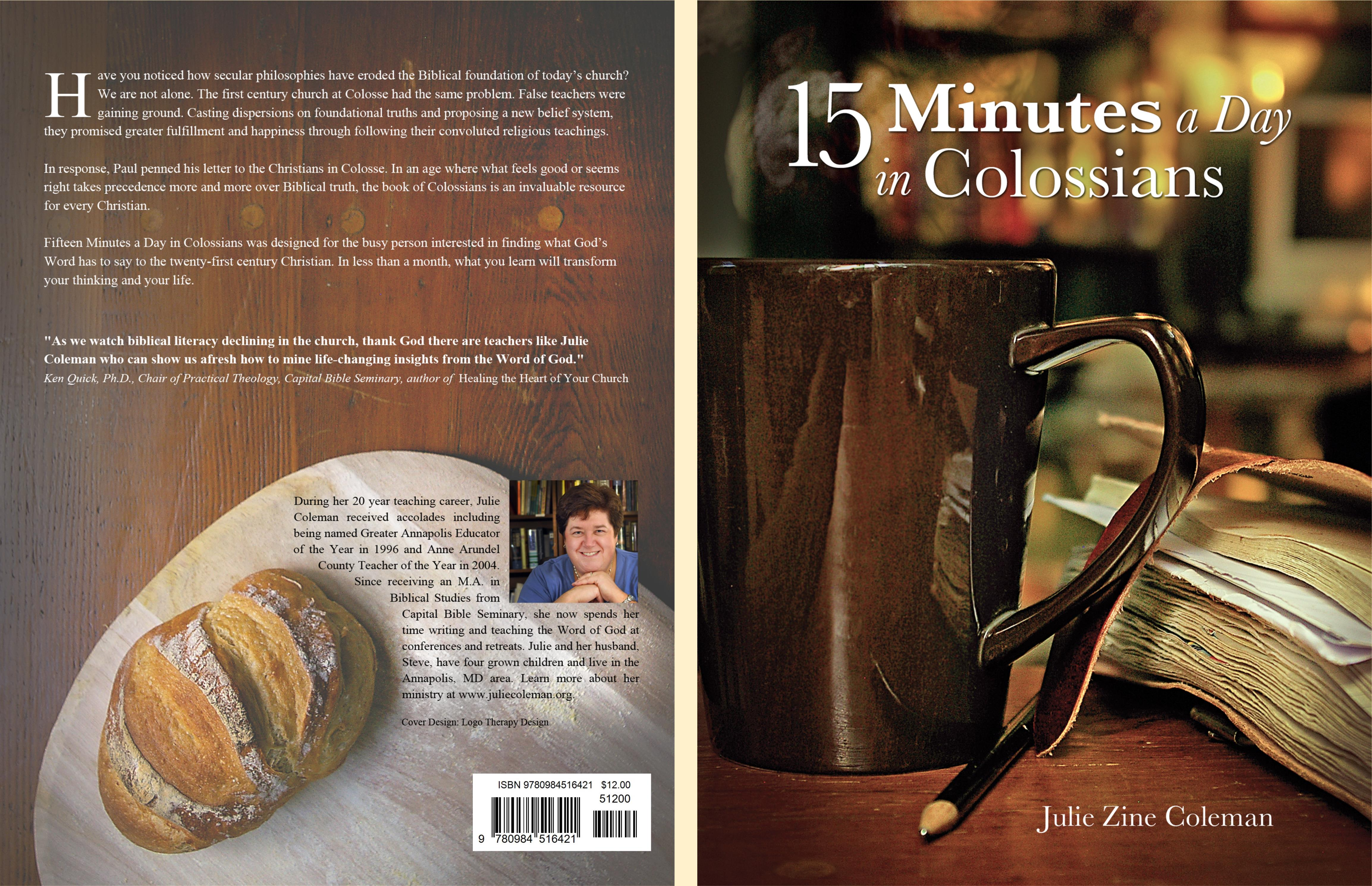 15 Minutes a Day in Colossians cover image