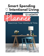 Smart Spending & Intentional Living Planner cover image