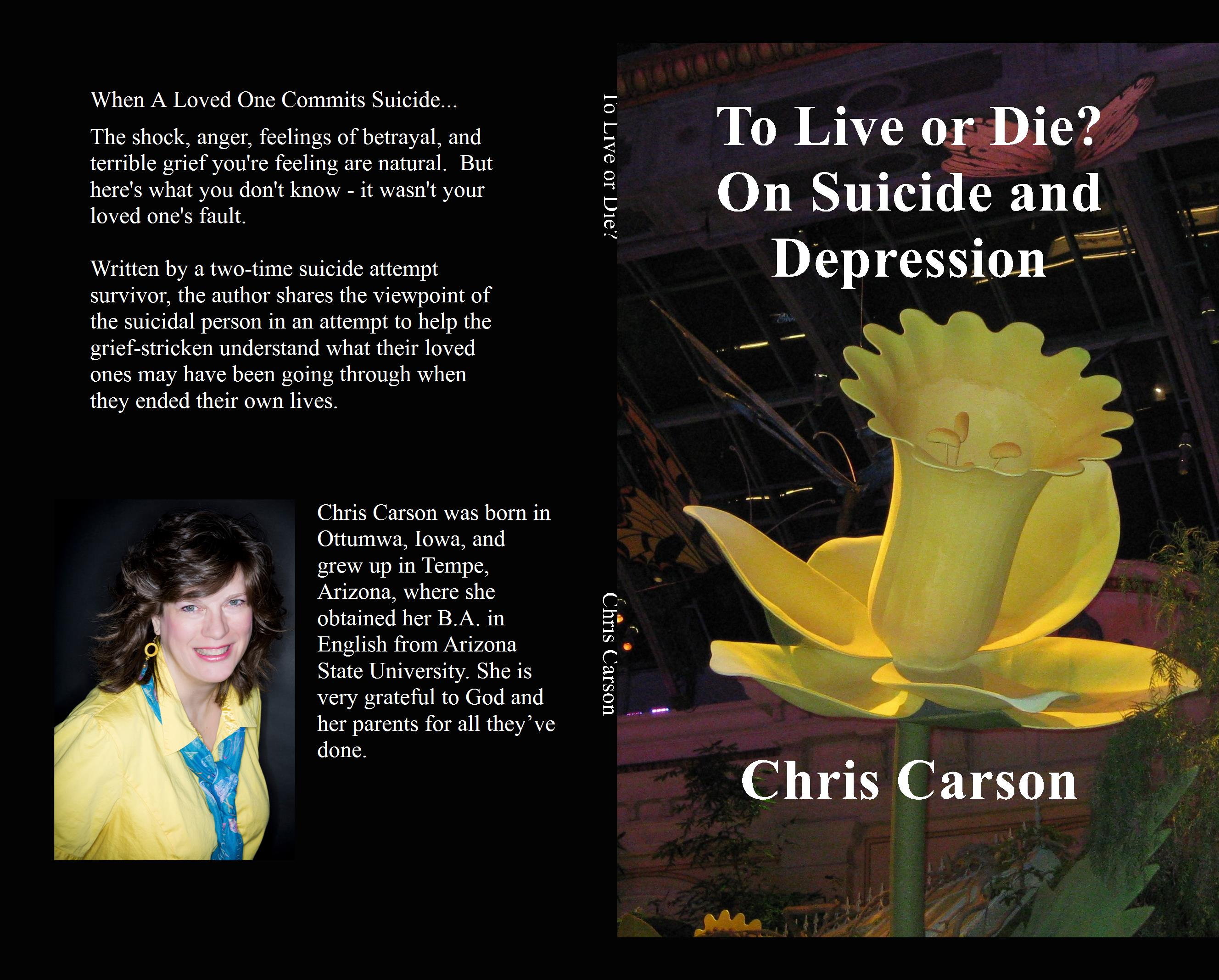 To Live or Die? On Suicide and Depression cover image