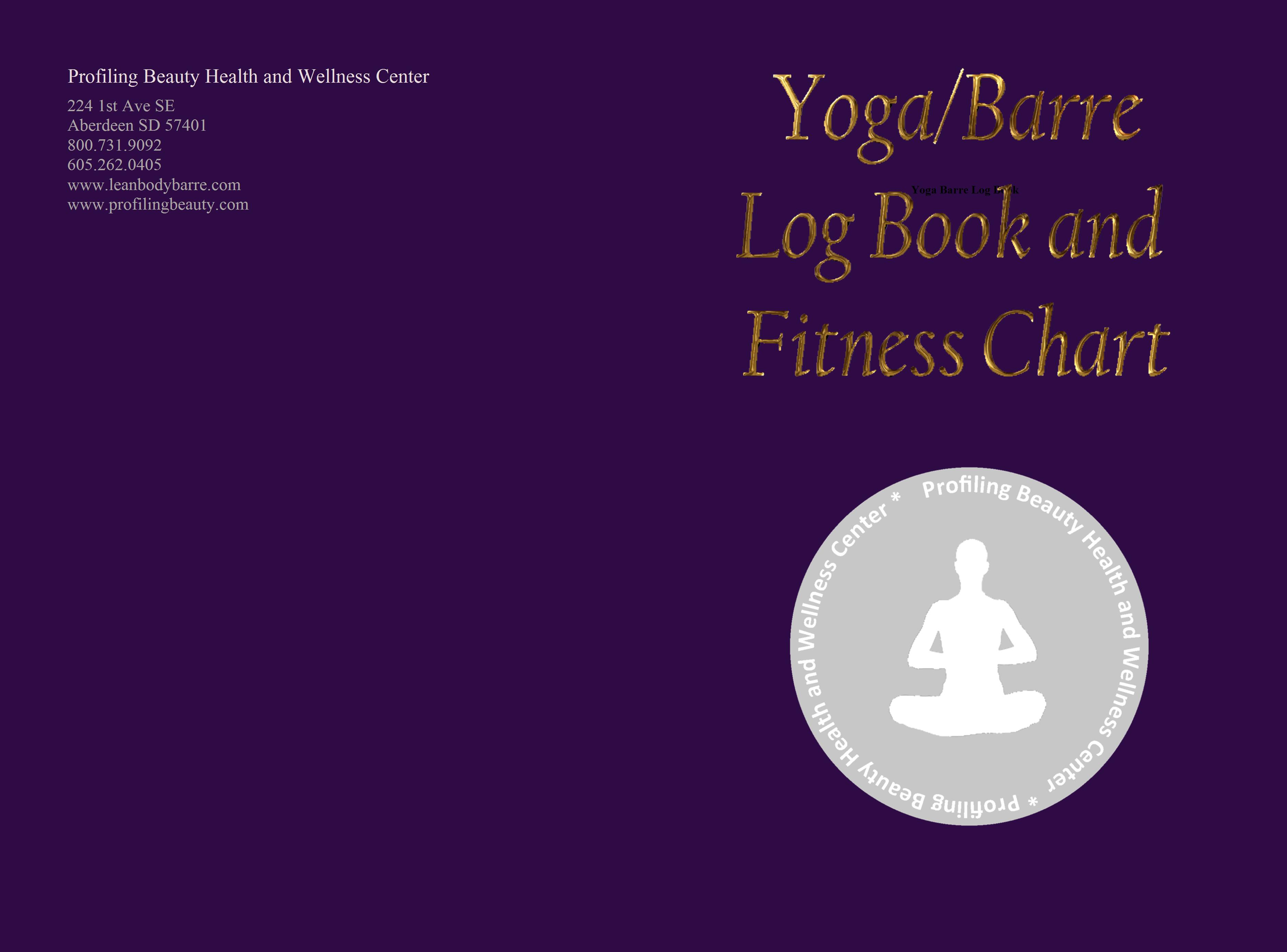 Yoga Barre Log Book cover image